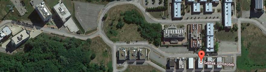 Mappa stradale sede Selltek Prototek Valenza