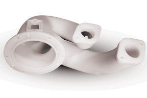 Prototipo parte automotive realizzato con la stampante 3D Systems ProX 500