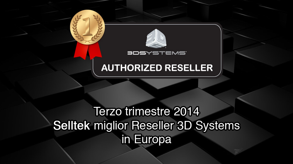 Miglior Reseller Europa 3D Systems