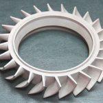Prototipo ventola automotive in metallo realizzato con la stampante 3D Systems ProX.