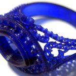 Prototipo anello in stereolitografia realizzato con la stampante 3D Systems ProX 950