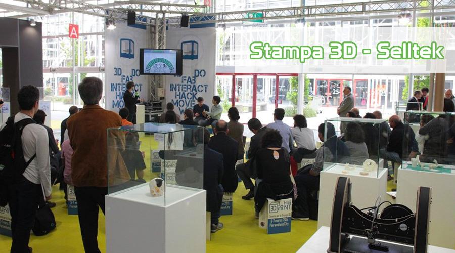 Selltek 3D Print Hub Milano