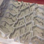 Particolare metallo realizzato in 3D da una stampante 3D ProX 400