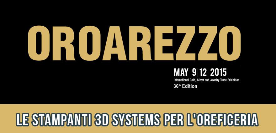Stampanti 3D per Gioielleria e Oreficeria Arezzo