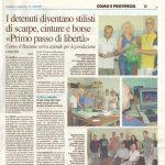 Il Giorno giornale stampa 3D
