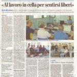 La provincia stampa 3D in carcere