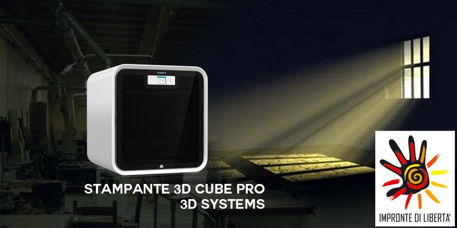 Stampante 3D cube Pro 3D Systems