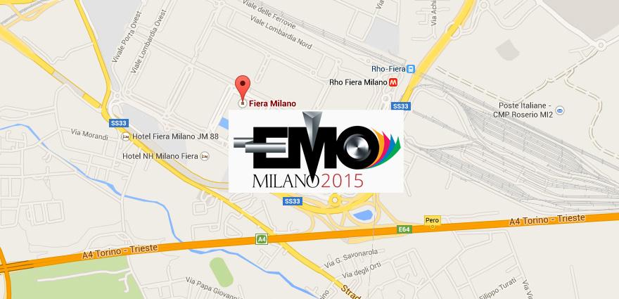 Mappa EMO 2015 Stampa 3D Selltek