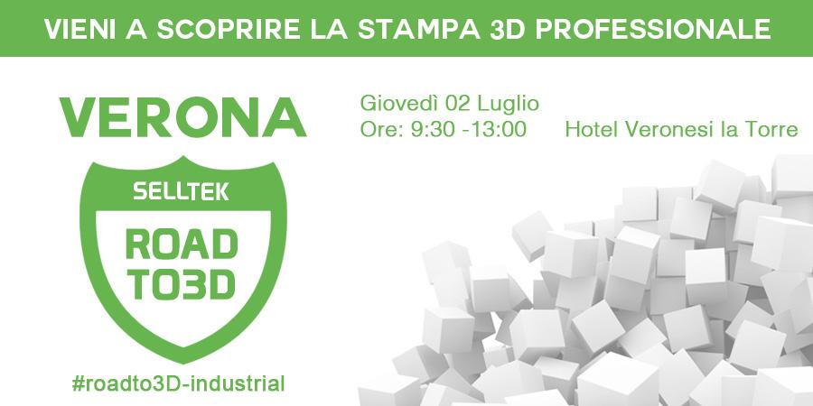 Stampa 3D professionale a Verona 2015