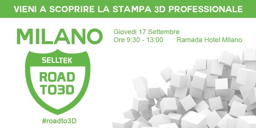Roadto3D Milano