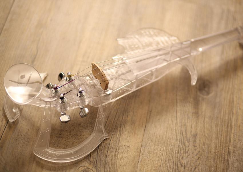 Violino Stampato in 3D Stereolitografia