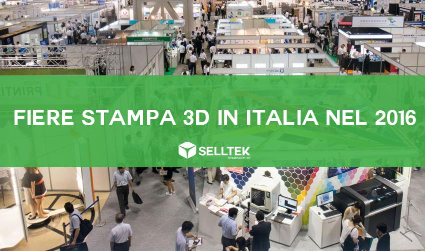 Fiere mStampa 3D 2016 in Italia