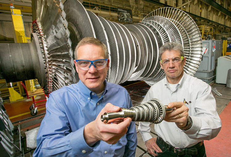Turbina per desalinizzazione stampata in 3D