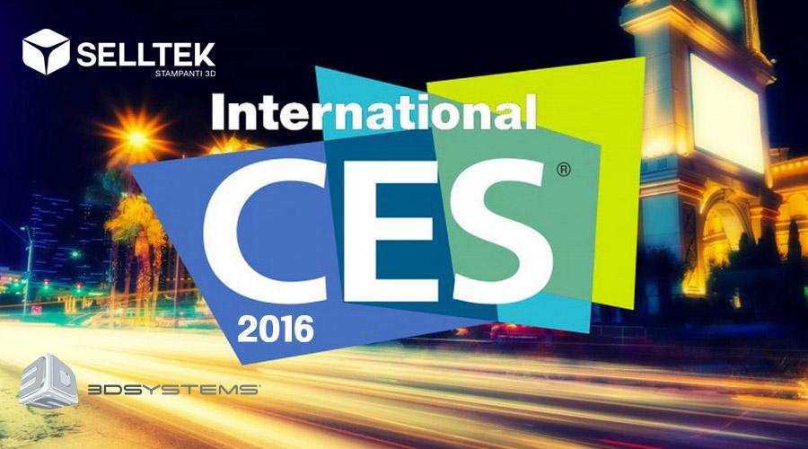CES 2016 nuove stampanti 3D professionali