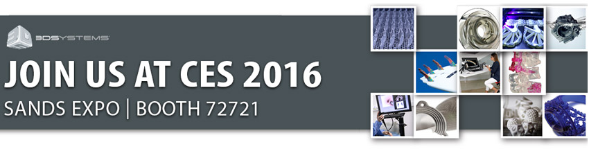 3D Systems CES 2016 Las Vegas