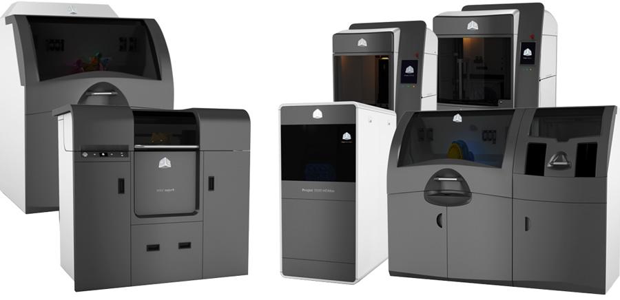Stampanti 3D professionali 3D Systems Italia