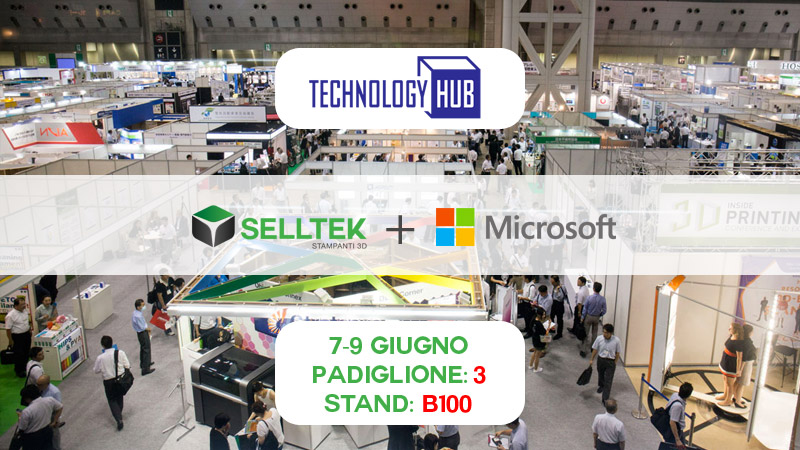 Microsoft con Selltek per la Stampa 3D a Milano