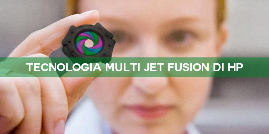 Tecnologia MJF di HP - Stampa 3D