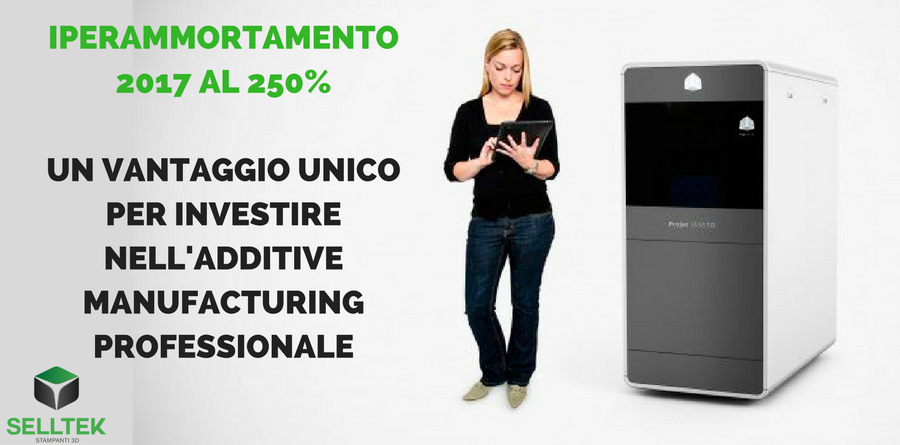Iperammortamento 2017 stampanti 3D