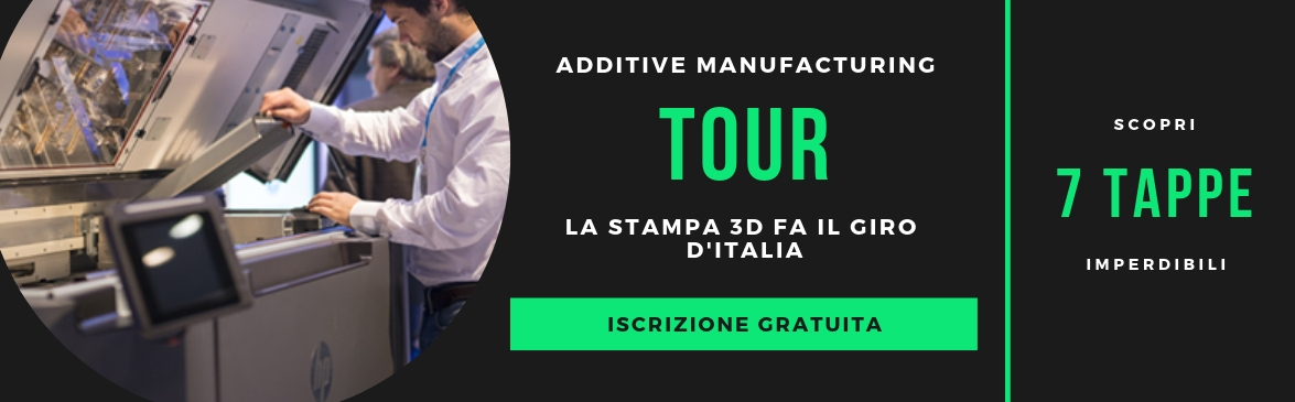 AM Tour 2019 evento stampa 3D