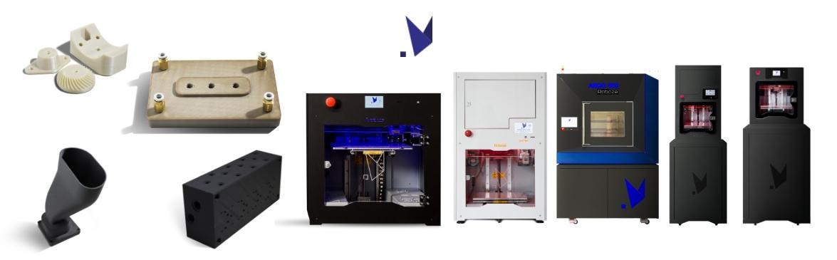roboze stampa 3D nella meccanica