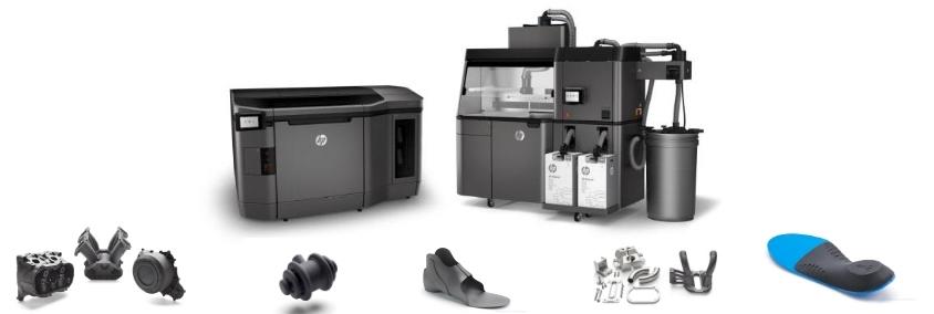 stampante 3d hp stampa 3D nella meccanica