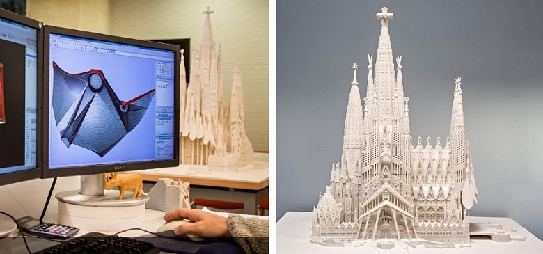 stampa 3d per l'architettura