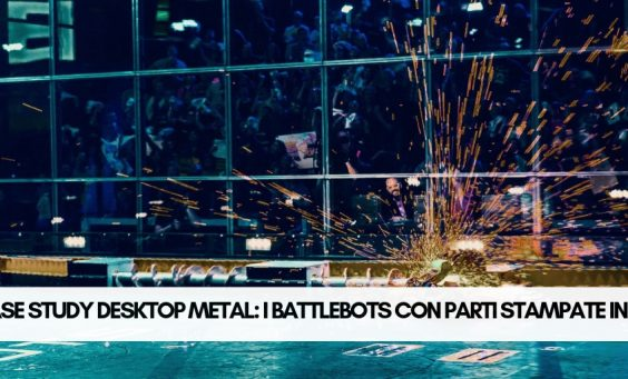 desktop metal parti in 3d battlebots