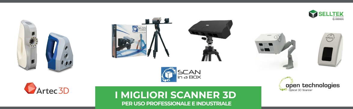 SCANNER 3D Italy 2019