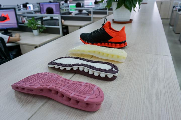 Scarpe stampate con le stampanti 3D ProtoFab