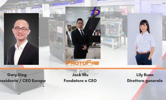 il team protofab stampa 3D