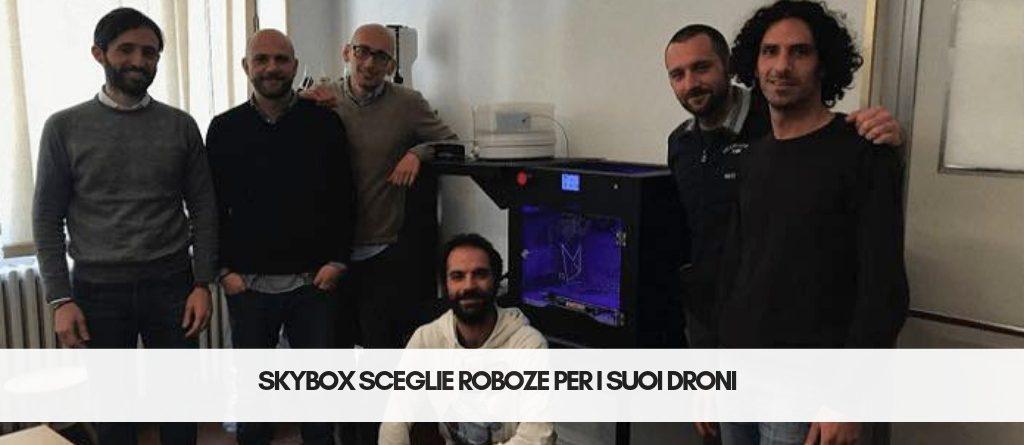 SkyBox sceglie Roboze per i suoi Droni