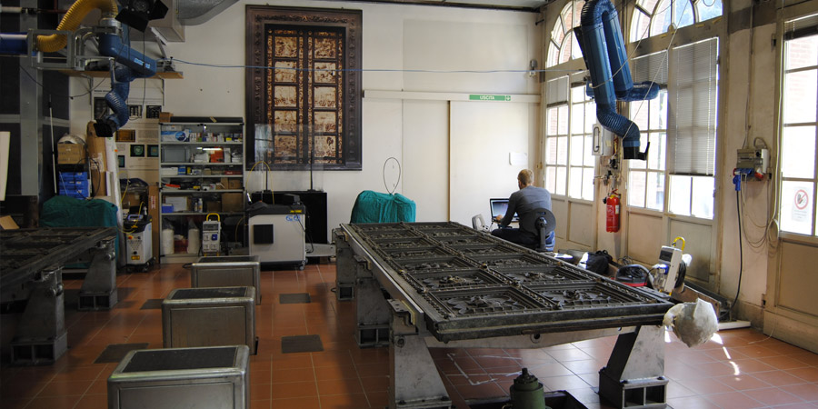 Arte e tecnologia 3D: Porta Sud del Battistero di Firenze