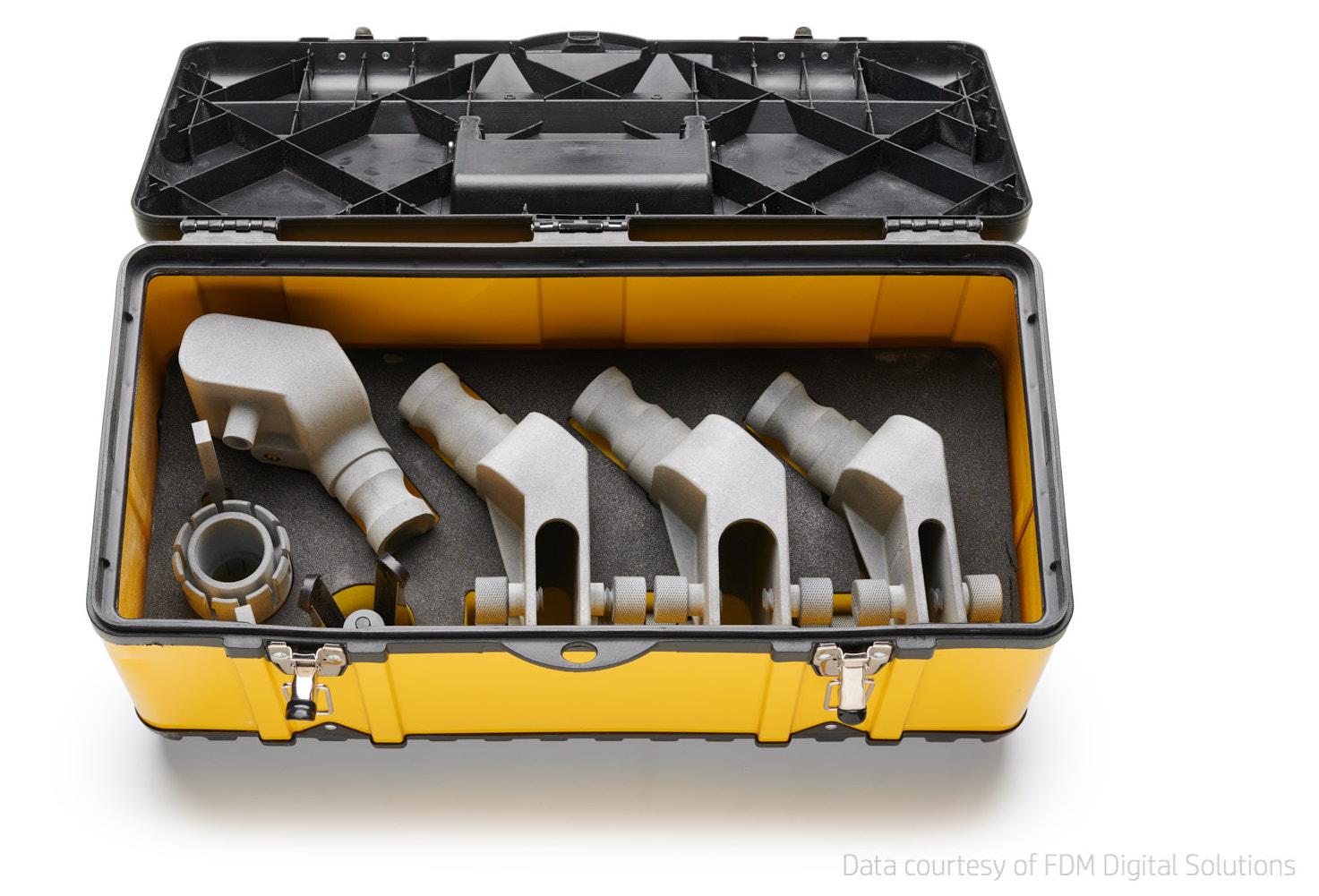 Tecnologie di stampa 3D - HP MJF