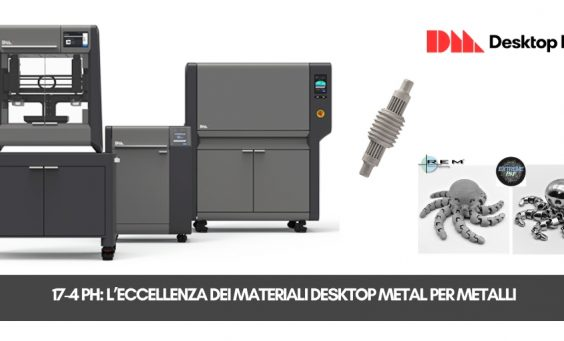 Desktop Metal e REM Surface Engineering | Selltek by Dedem