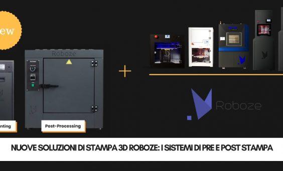 Nuove soluzioni di stampa 3D Roboze 2019 | Selltek by Dedem