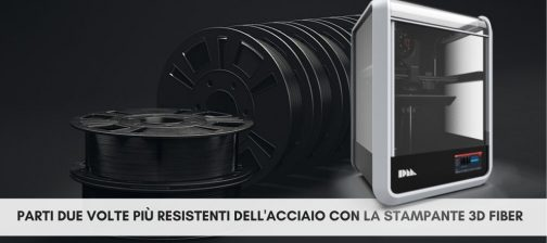 Stampante 3D Fiber Desktop Metal e materiali
