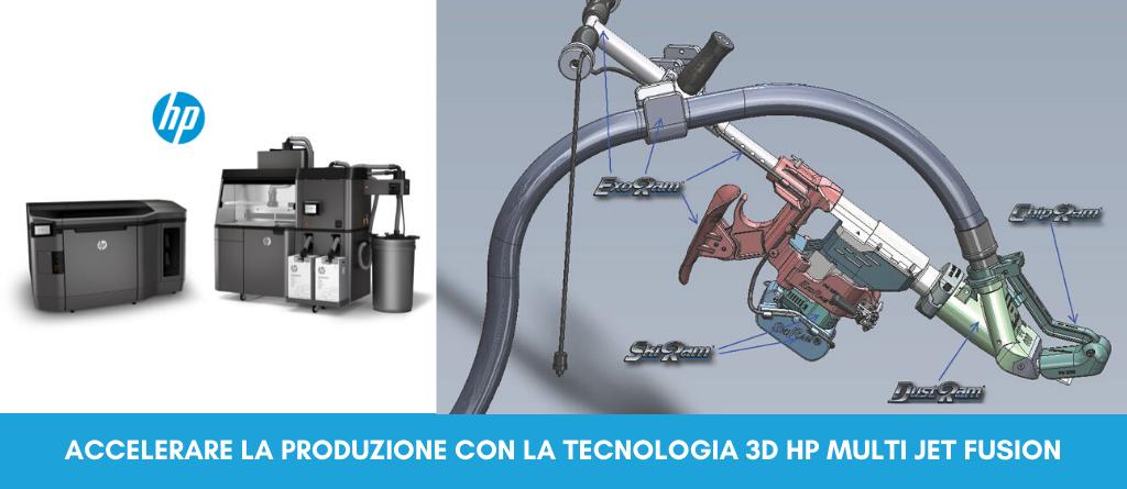 Acelerare la produzione con la tecnologia 3D HP Jet Fusion   Selltek