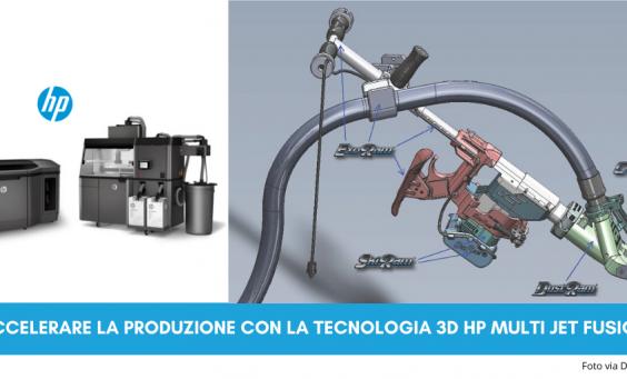 Acelerare la produzione con la tecnologia 3D HP Jet Fusion | Selltek