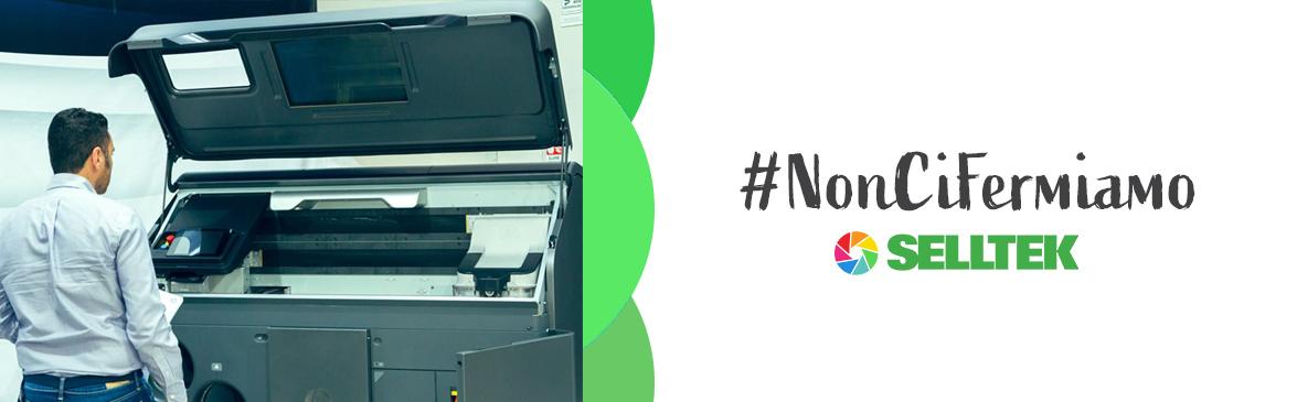 Slide sito #noncifermiamo | Selltek